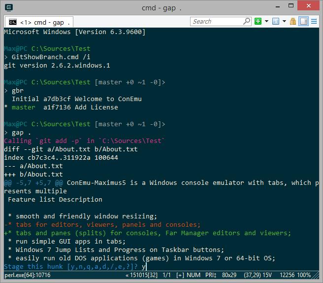Aplikasi Terminal untuk Windows