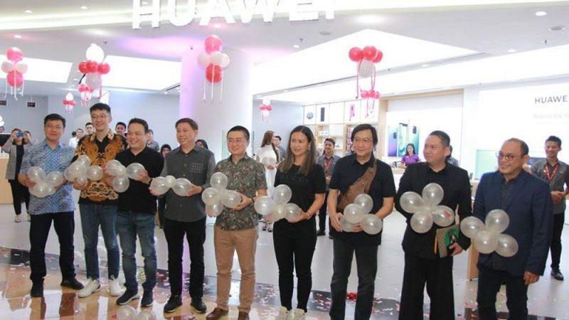 Huawei Resmi Buka Gerai Pertamanya di Indonesia