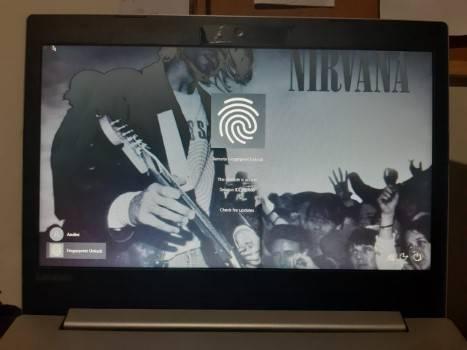Mengunci Laptop Menggunakan Fingerprint?