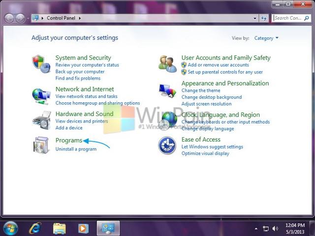 Tutorial Uninstall Program Windows