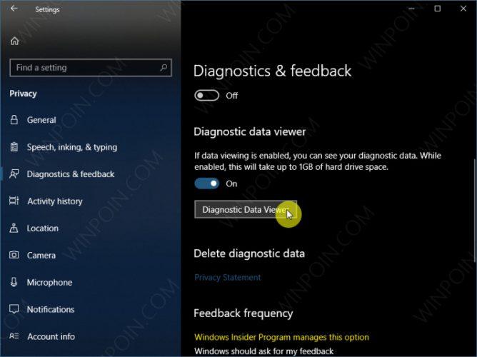 Tips Mengaktifkan Diagnostic Data