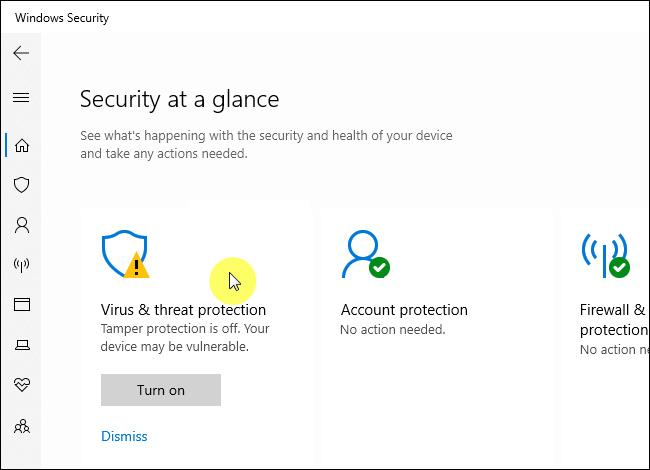 Cara Aktifkan Tamper Protection di Windows 10