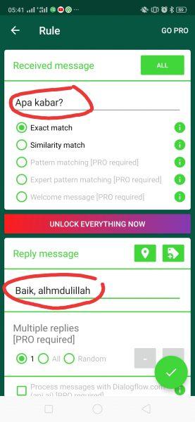 Cara Balas WhatsApp Otomatis
