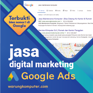 jasa digital marketing google ads
