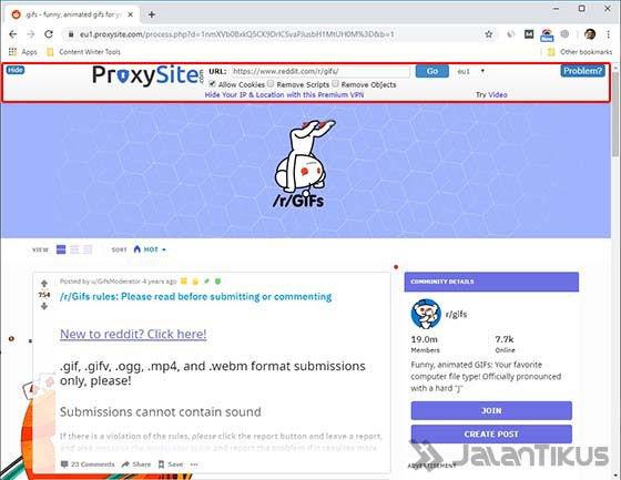 Cara Mudah Membuka Situs